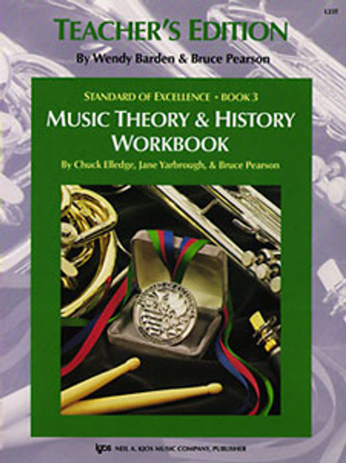 YARBROUGH, Standard Of Excellence Bk3,Msc Thry/History Wb-Teacher [KJOS:L23T]
