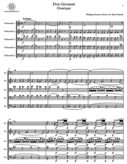 Mozart, Don Giovanni Overture[Op.C.:MOZART5]