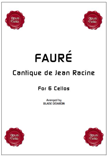 Faure,Cantique de Jean Racine[Op.C.:FAURE6]