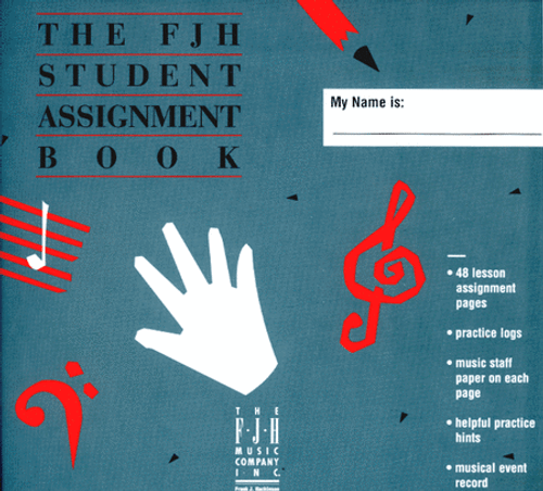 FJH Student Assignment Book [FF1162]