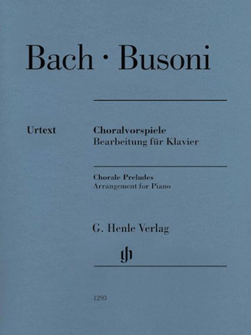 Chorale Preludes (Johann Sebastian Bach) [HL:51481293]