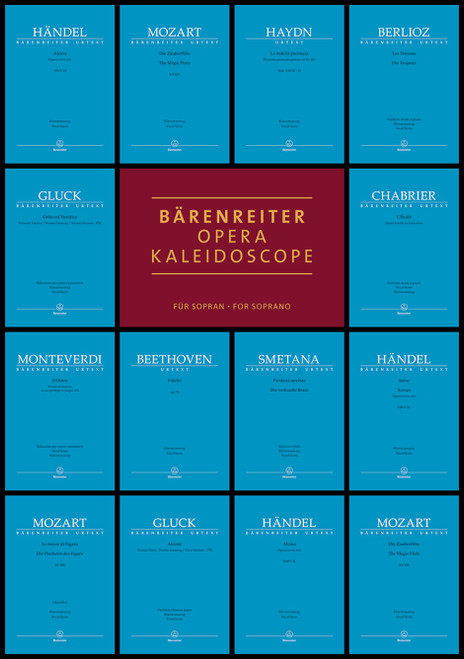 Bärenreiter Opera Kaleidoscope for Soprano [Bar:BA8828]