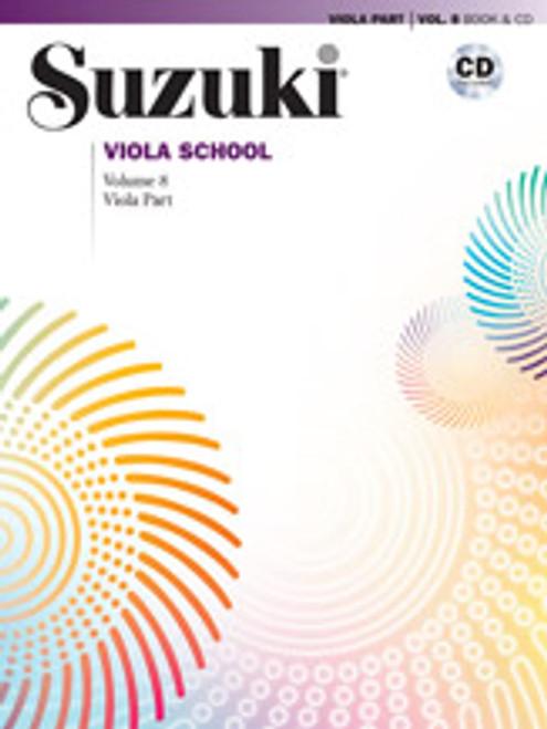 Suzuki Viola School Viola Part & CD, Volume 8 [Alf:00-40760]