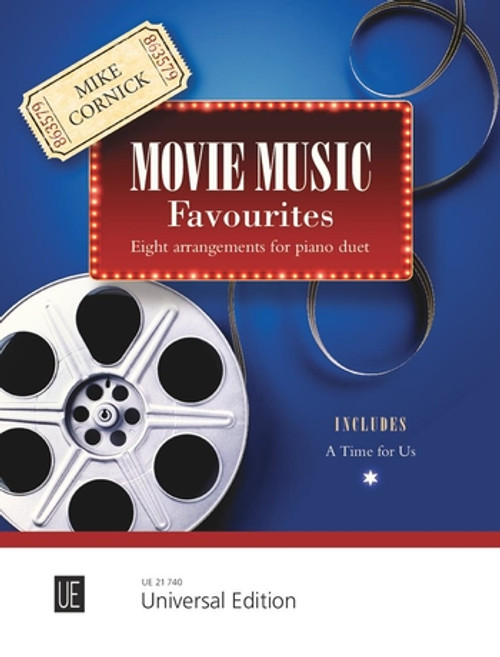 Movie Music Favourites Arranged for Piano Duet by Mike Cornick [UT21740]