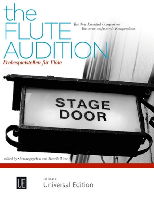 The Flute Audition - Compiled and Edited by Henrik Weise [UE36419]
