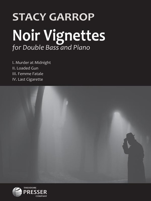 Garrop - Noir Vignettes for Double Bass and Piano [CF:144-41811]