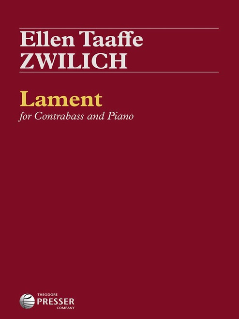 Zwilich - Lament for Contrabass and Piano [CF:144-40704]