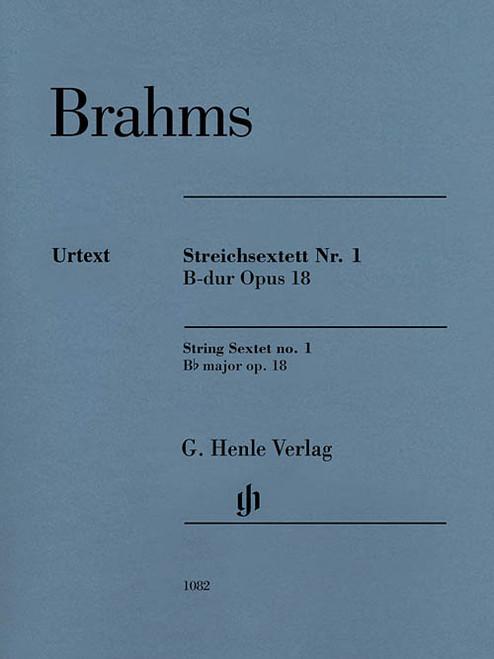 Brahms - String Sextet no. 1 Bb major op.18 [HL:51481082]