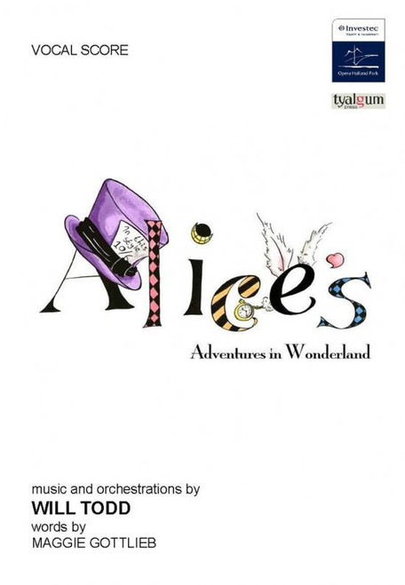 Will Todd - Alice's Adventures in Wonderland Vocal Score [Pet:TP700035]