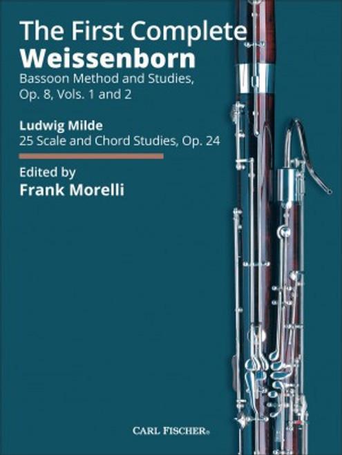 Weissenborn - The First Complete Weissenborn Bassoon Method and Studies Op. 8, Vol. 1-2 [CF:WF223]