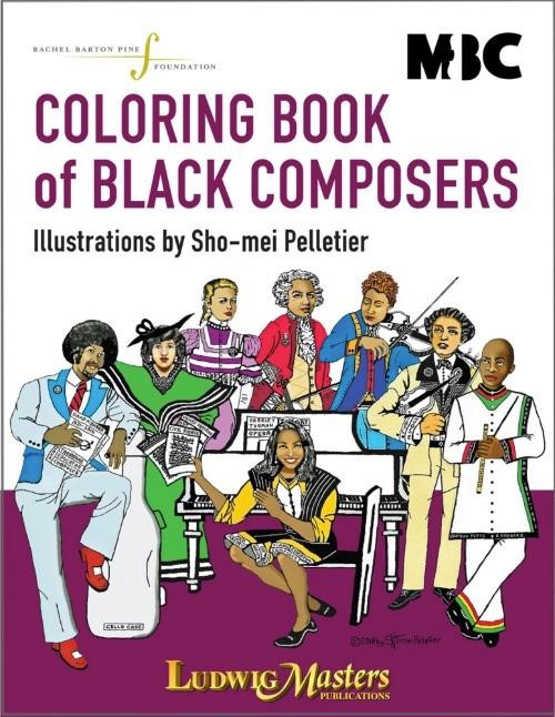 Coloring Book of Black Composers [Lud:55300001]
