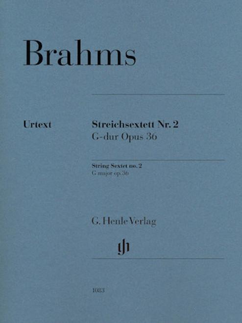 Brahms - String Sextet No. 2 in G Major Op. 36 [HL:51481083]