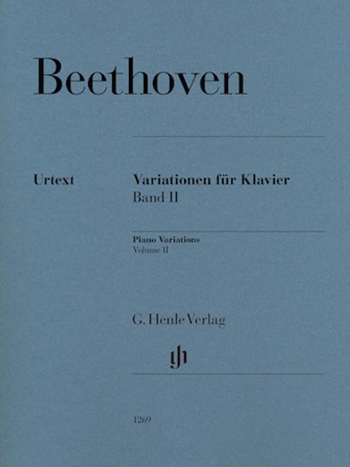 Beethoven - Piano Variations Vol. 2 [HL:51481269]