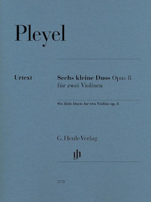 Pleyel - Six Little Duets for two Violin Op. 8 [HL:51481378]