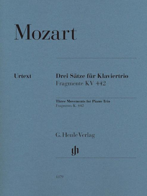 Three Movements For Piano Trio Fragments, K. 442 [HL:51481379]