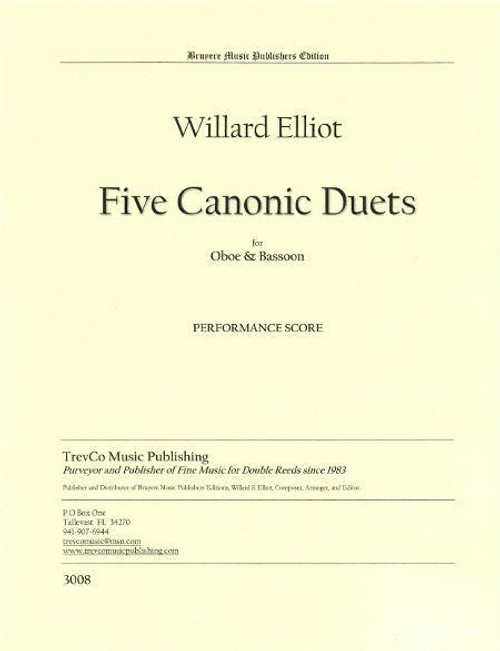 Elliot - Five Canonic Duets