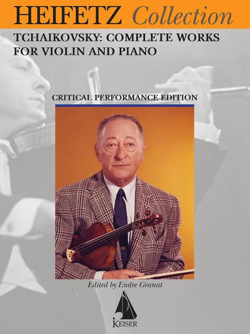 Heifetz Collection - Tchaikovsky: Complete Works [HL:00298304]