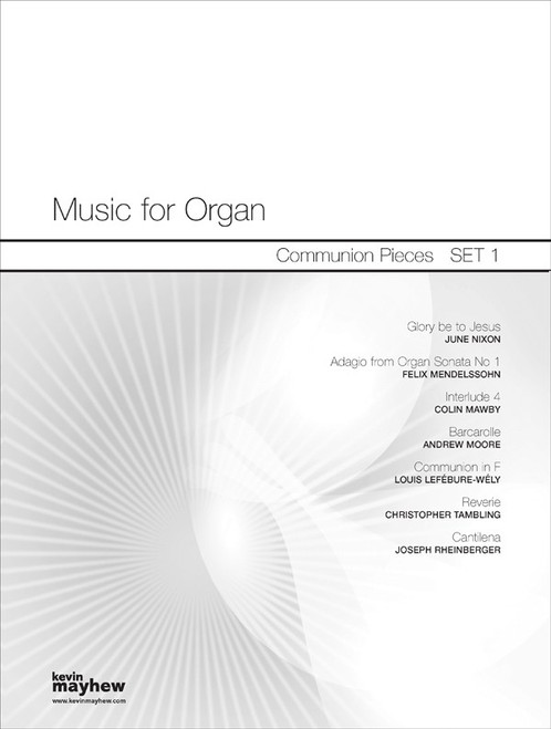Music for Organ - Communion Pieces Set 1 [Mayhew 1400403]