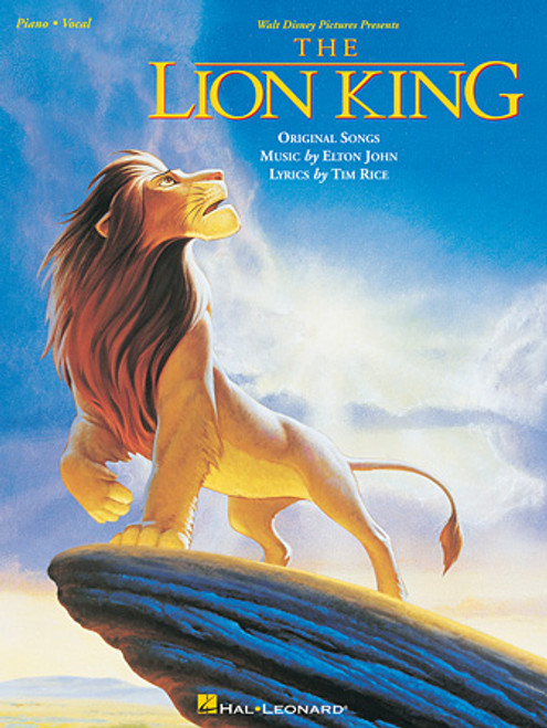 A souvenir folio from one of the most-loved Disney blockbusters of all time, featuring full-color scenes from the movie and five songs: Be Prepared • Can You Feel the Love Tonight • Circle of Life • Hakuna Matata • I Just Can't Wait to Be King.