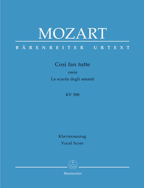 Mozart, Cosi fan Tutte [KGA: BA4606-93]