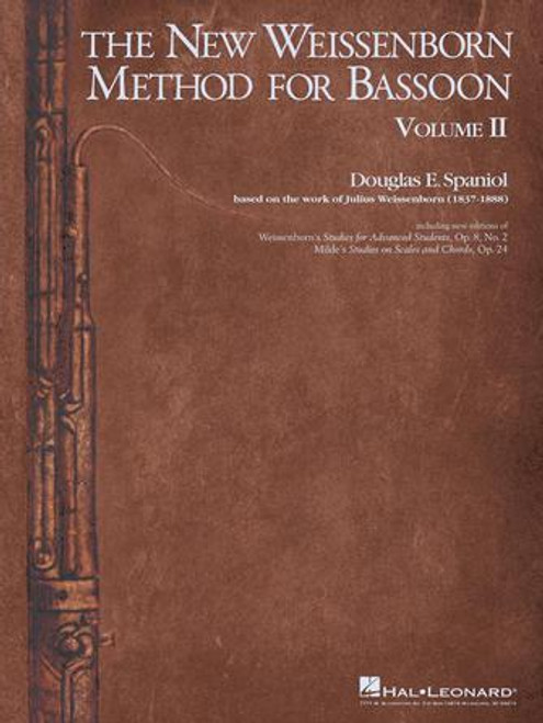 Bassoon - The New Weissenborn Method for Bassoon Vol. 2 [HL: 00283708]