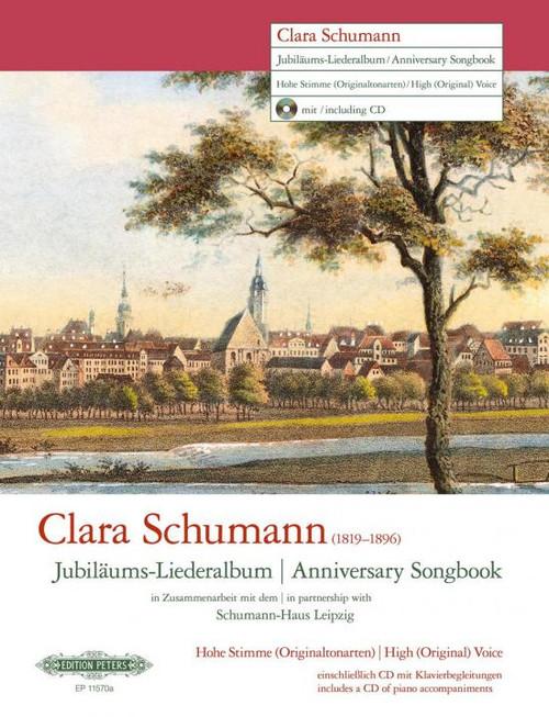 Schumann, Clara - Anniversary Songbook (High Voice) [Pet:EP11570A]