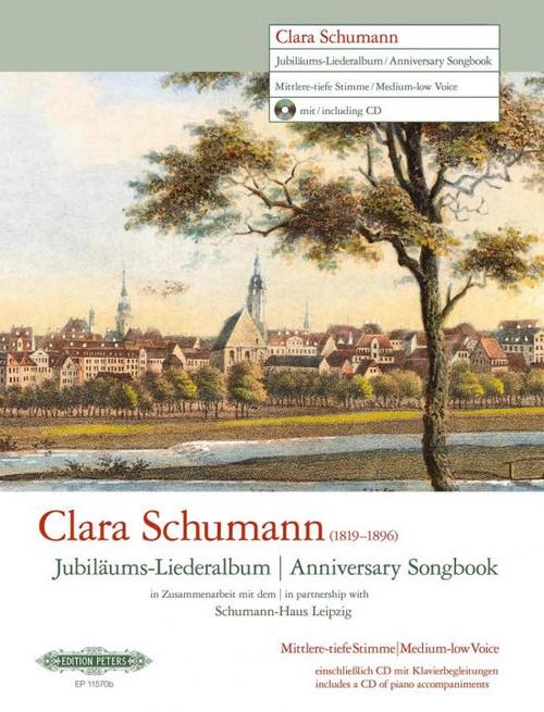 Schumann, Clara - Anniversary Songbook (Low Voice) [EP: EP11570B]