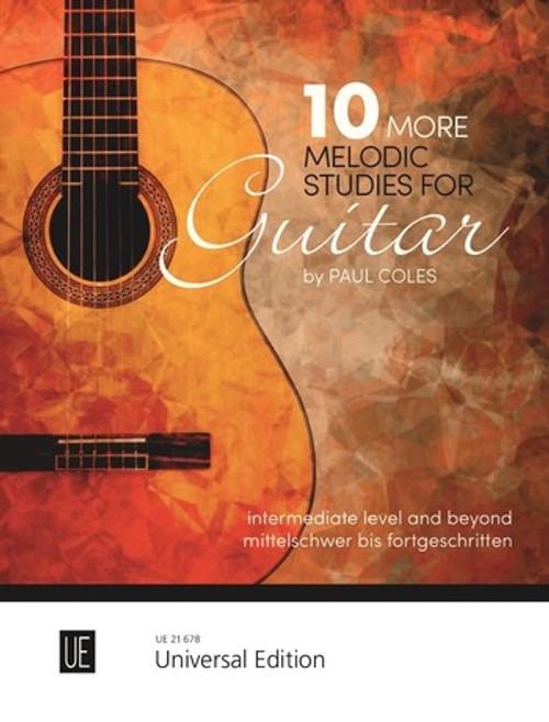 Coles, 10 More Melodic Studies for guitar [UE: 21678]