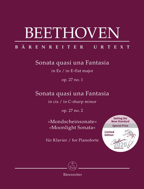 "Piano - Beethoven - ""Moonlight"" Sonata Op. 37 No. 2 [BAR: BA11838-04]"