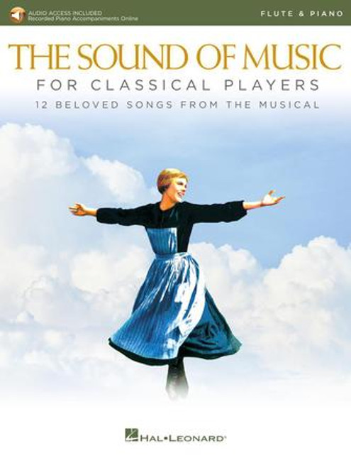 Flute - The Sound of Music for Classical Players for Flute and Piano (w/online audio) [HL: 00284860]