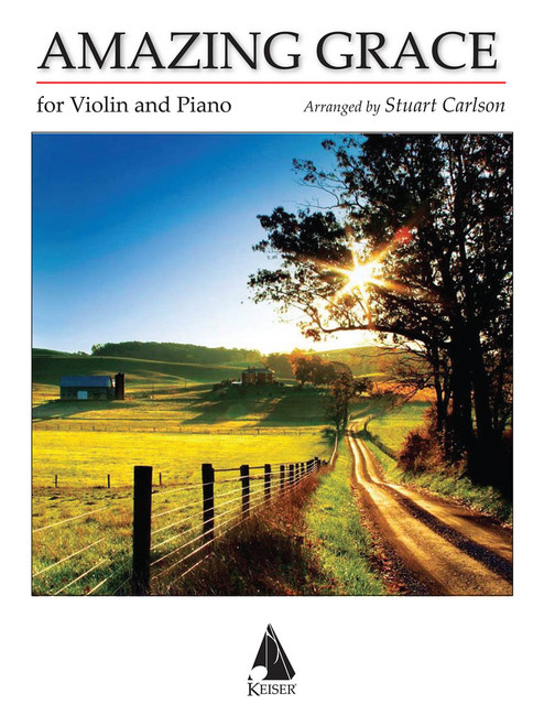 Violin - Carlson - Amazing Grace for Violin and Piano [HL: 00298306]