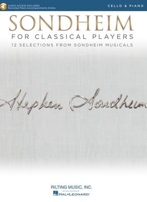 Cello - Sondheim for Classical Players for Cello and Piano [HL: 00275409]