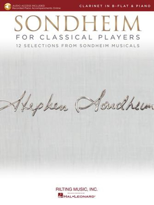 Clarinet - Sondheim for Classical Players for Clarinet and Piano [HL: 00275411]