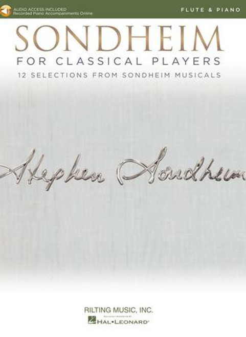 Flute - Sondheim for Classical Players for Flute and Piano [HL: 00275410]