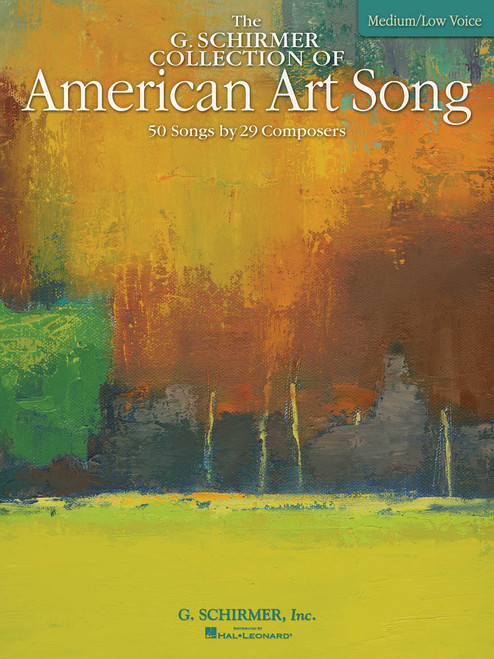 Vocal - The G. Schirmer Collection of American Art Song (Medium/Low Voice) [HL: 50485069]