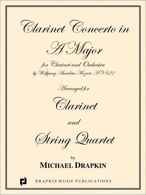 Mozart, Clarinet Concerto in A [CF:494-03160]