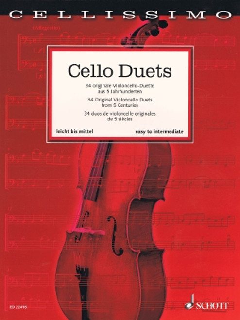 Cello Duets [HL:49046308]