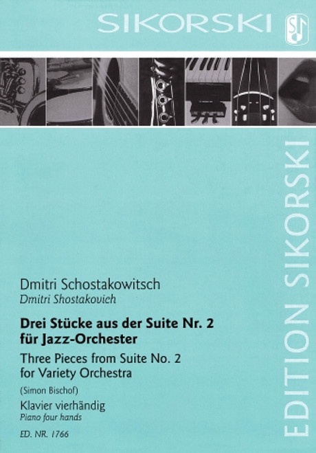 Piano Four Hands - Schostakowitsch - Three Pieces from Suite No. 2 [HL: 50602270]