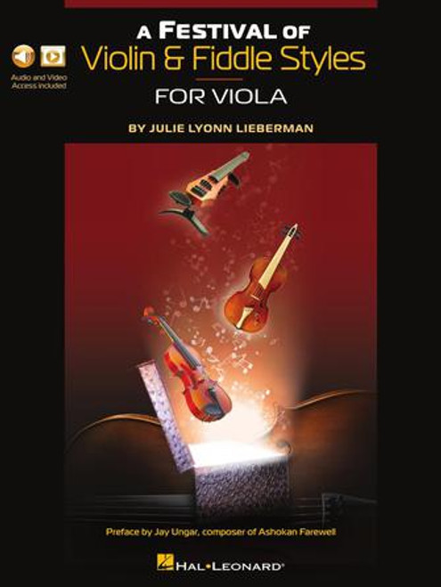 Viola - Lieberman - A Festival of Violin and Fiddle Styles for Viola [HL: 00298179]