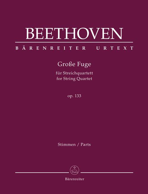 Beethoven - Grosse Fuge for String Quartet [Bar:BA 9003]