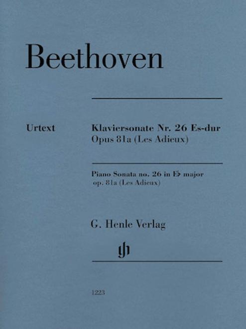 Beethoven - Piano Sonata No. 26 in E-flat Major Op. 81a [HL:51481223]