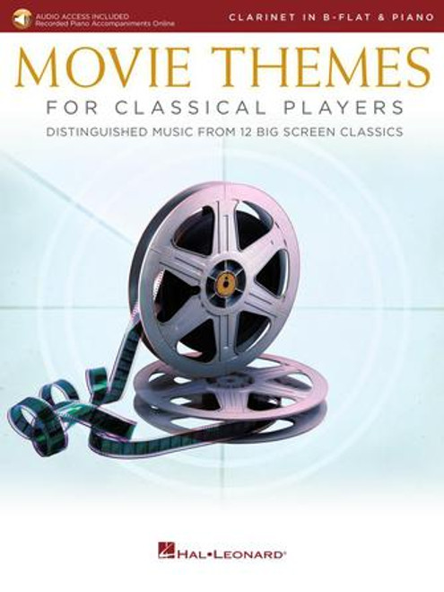 Clarinet - Various - Movie Themes for Classical Players (w/Online Audio) [HL: 00284609]