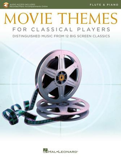 Flute - Various - Movie Themes for Classical Players (w/Online Audio) [HL: 00284608]