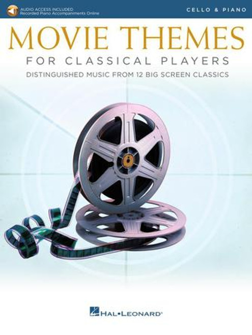Cello - Various - Movie Themes for Classical Players (w/Online Audio) [HL: 00284607]
