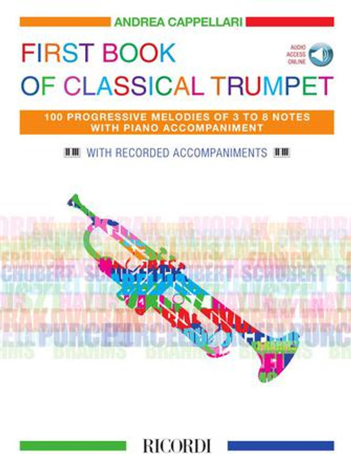 Trumpet - First Book of Classical Trumpet w/Recorded Accompaniments [HL: 50602024]