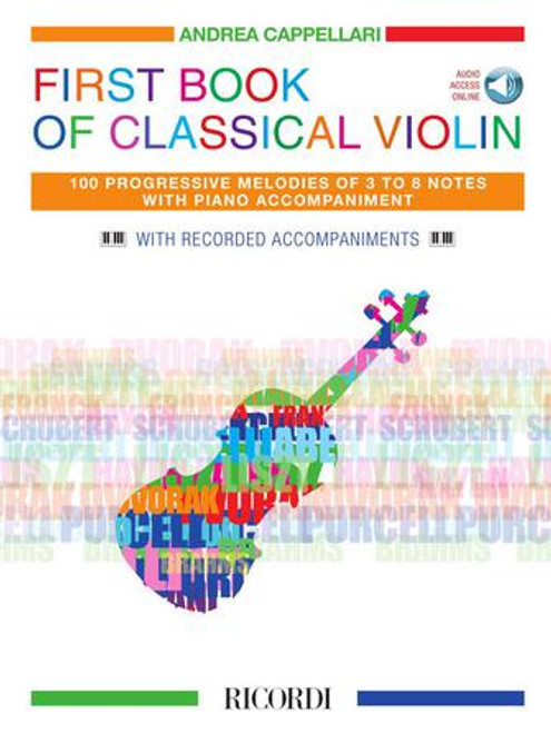 Violin - First Book of Classical Violin w/Recorded Accompaniments [HL: 50602021]