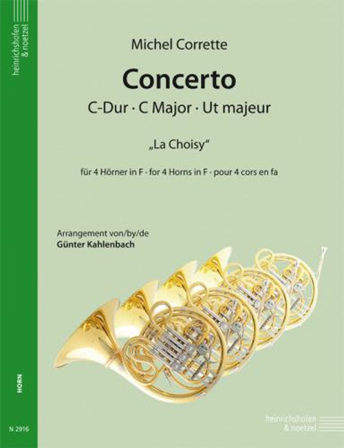 "Horn - Corrette - Concerto in C Major ""La Choisy"" [Pet: N2916]"