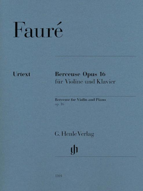 Violin - Faure - Berceuse, Op. 16 [HL:51481101]