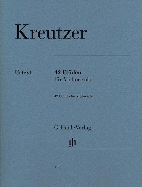 Violin - Kreutzer - 42 Studies [HL:51481177]