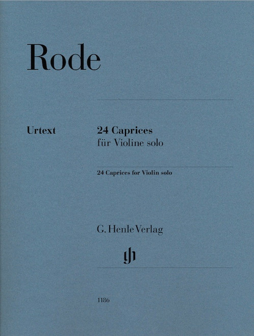 Violin - Rode - 24 Caprices for Violin Solo [HL:51481186]